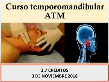 curso de atm para fisioterapeutas, basado en postgrados de atm fisioterapia, valoración y diagnóstico ATM, dolor de cabeza, ejercicio terapéutico y control motor